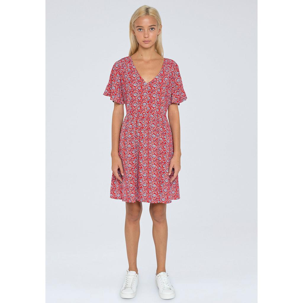 Pepe Jeans Sommerkleid »CAROLINA«, mit tollem floralem allover Print