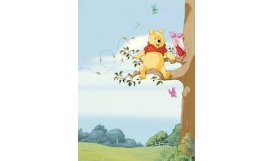 Komar Fototapete »Winnie Pooh Tree«, bedruckt-Comic, ausgezeichnet lichtbeständig kaufen