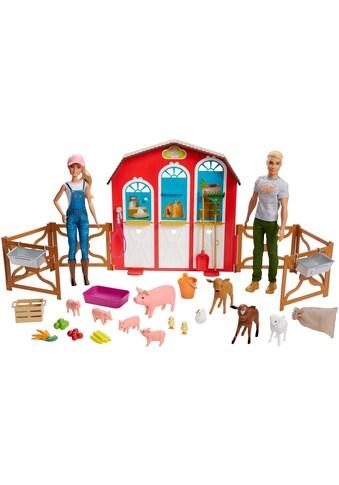 Mattel® Anziehpuppe »Barbie Bauernhof Spielset mit 2 Puppen« kaufen