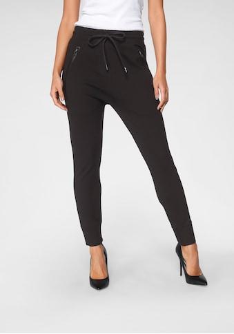 Zhrill Jogger Pants »FABIANA«, Jogginghose mit Zippertaschen & Gummibündchen in... kaufen