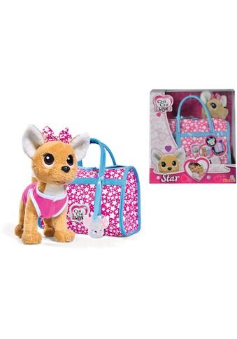SIMBA Kuscheltier »Chi Chi Love, Chihuahua Plüschhund Star«, mit Tasche kaufen