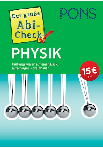 Buch »PONS Der große Abi-Check Physik / DIVERSE« kaufen