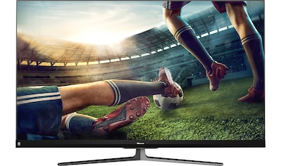 Hisense 55U8QF QLED - Fernseher (139 cm / (55 Zoll), 4K Ultra HD, Smart - TV kaufen