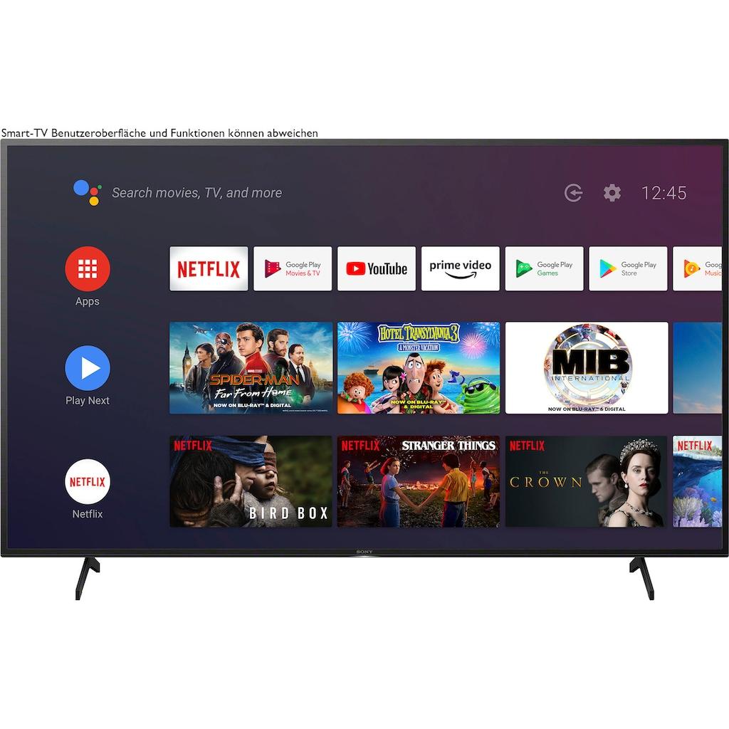 "Sony LED-Fernseher »KD-55XH8096 Bravia«, 139 cm/55 "", 4K Ultra HD, Android TV-Smart-TV"