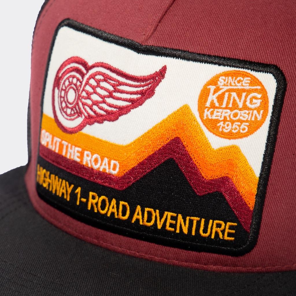KingKerosin Trucker Cap »Highway 1«, im lässigen Design