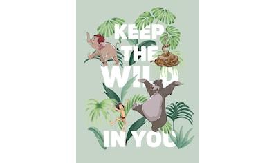 Komar Poster »Jungle Book Keep the Wild«, Disney kaufen