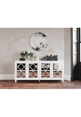 Leonique Sideboard »Jessica«, mit Spiegelfront und schön ausgefrästen Profilen kaufen