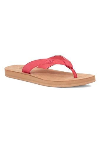 UGG Zehentrenner »Tawney«, mit Fußbett kaufen