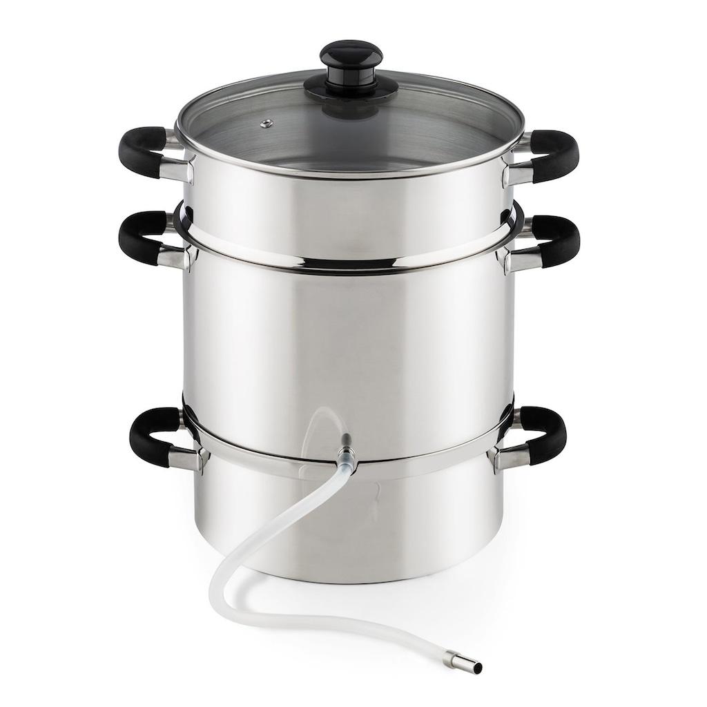 Klarstein Dampf Entsafter elektrisch Einkochautomat Einkochtopf 1500W 8 L
