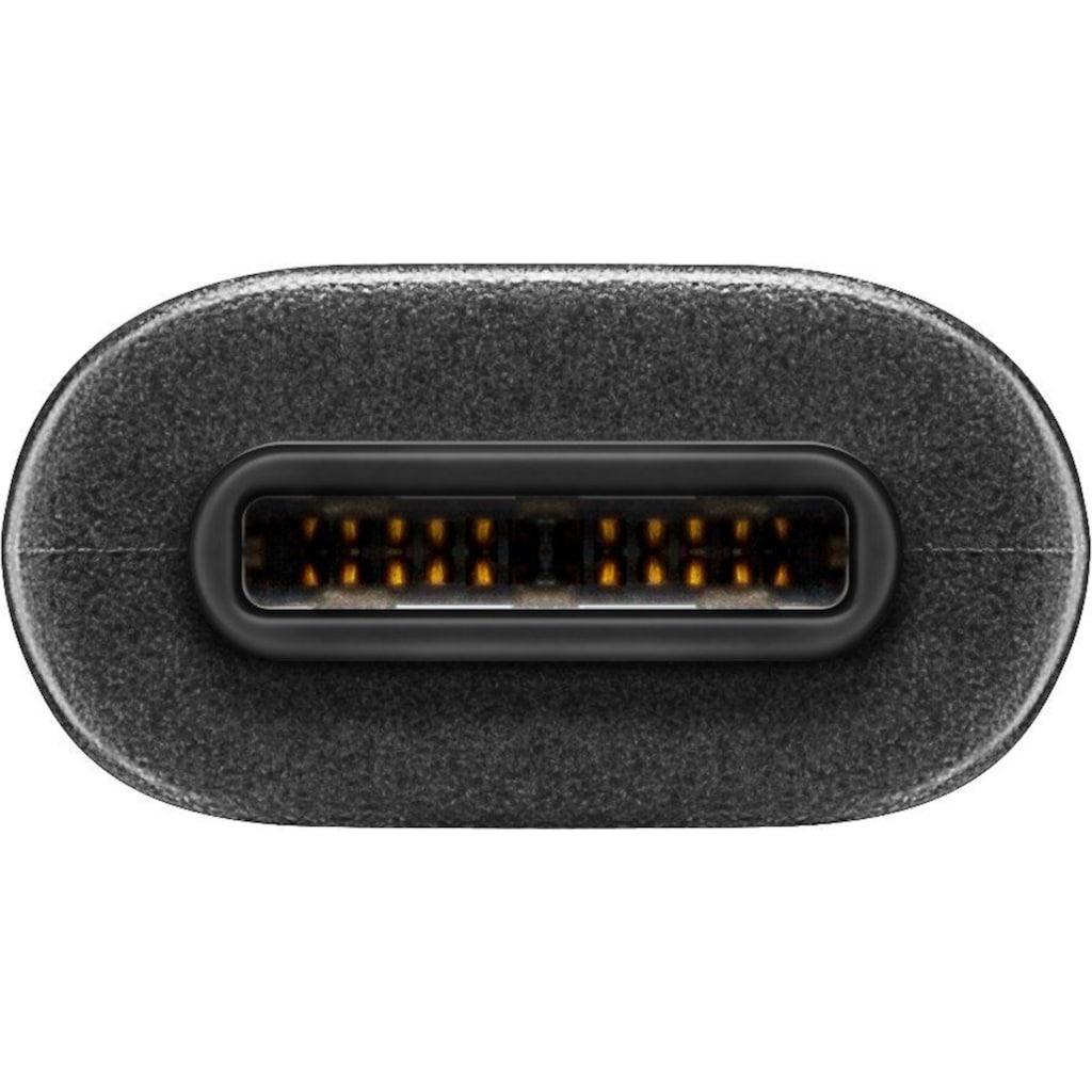Goobay USB-C(TM) auf Typ B USB 3.0 SCHWARZ 1.0m