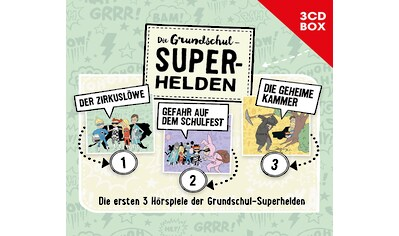 Musik-CD »GRUNDSCHUL-SUPERHELDEN, DI / Diverse Kinder« kaufen