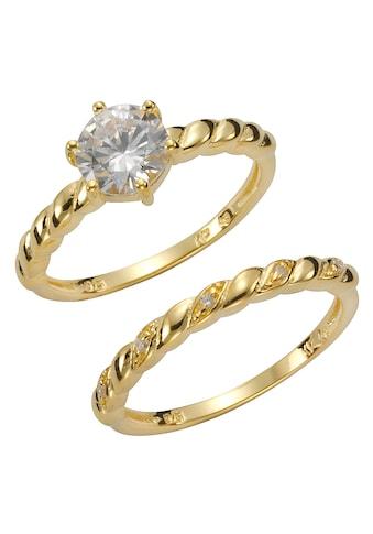 Firetti Ring-Set, (Set, 2 tlg.), mit Zirkonia (synth.) kaufen