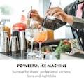 Klarstein Eiswürfelmaschine Nuggets 30kg/24h Edelstahl »Icetender«