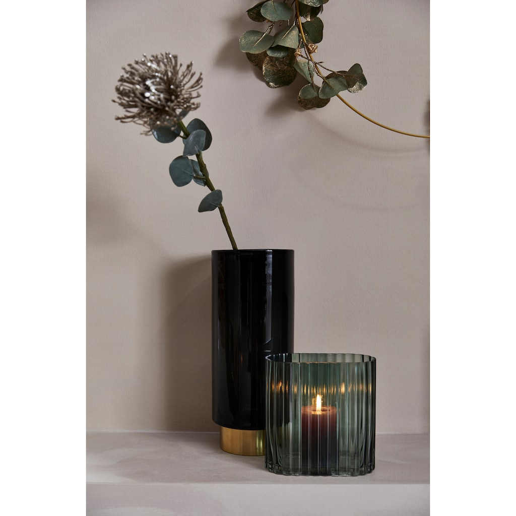 LeGer Home by Lena Gercke Dekovase »Lesslie«, Vase/Windlicht aus Glas