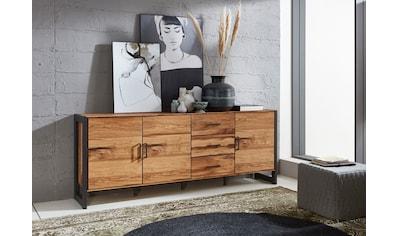 Relita Sideboard »Montana«, mit schön gemasertem Holzfurnier, im Industrial Design kaufen
