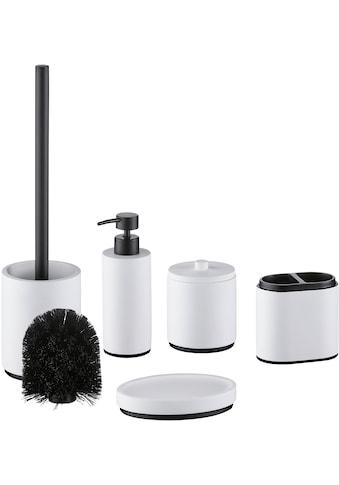 welltime Badaccessoires-Sets »Palermo«, inkl. Ersatzbürstenkopf für WC-Bürste kaufen