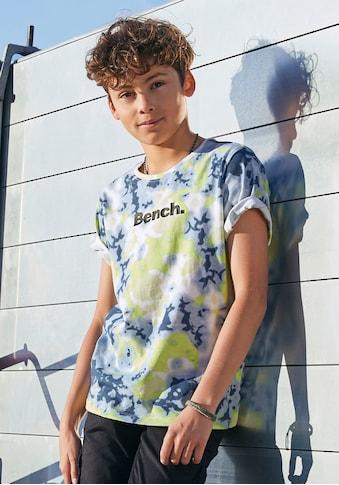 Bench. T-Shirt »Batik-Druck« kaufen