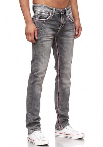 Rusty Neal Jeans mit farblich abgesetzten Nähten kaufen