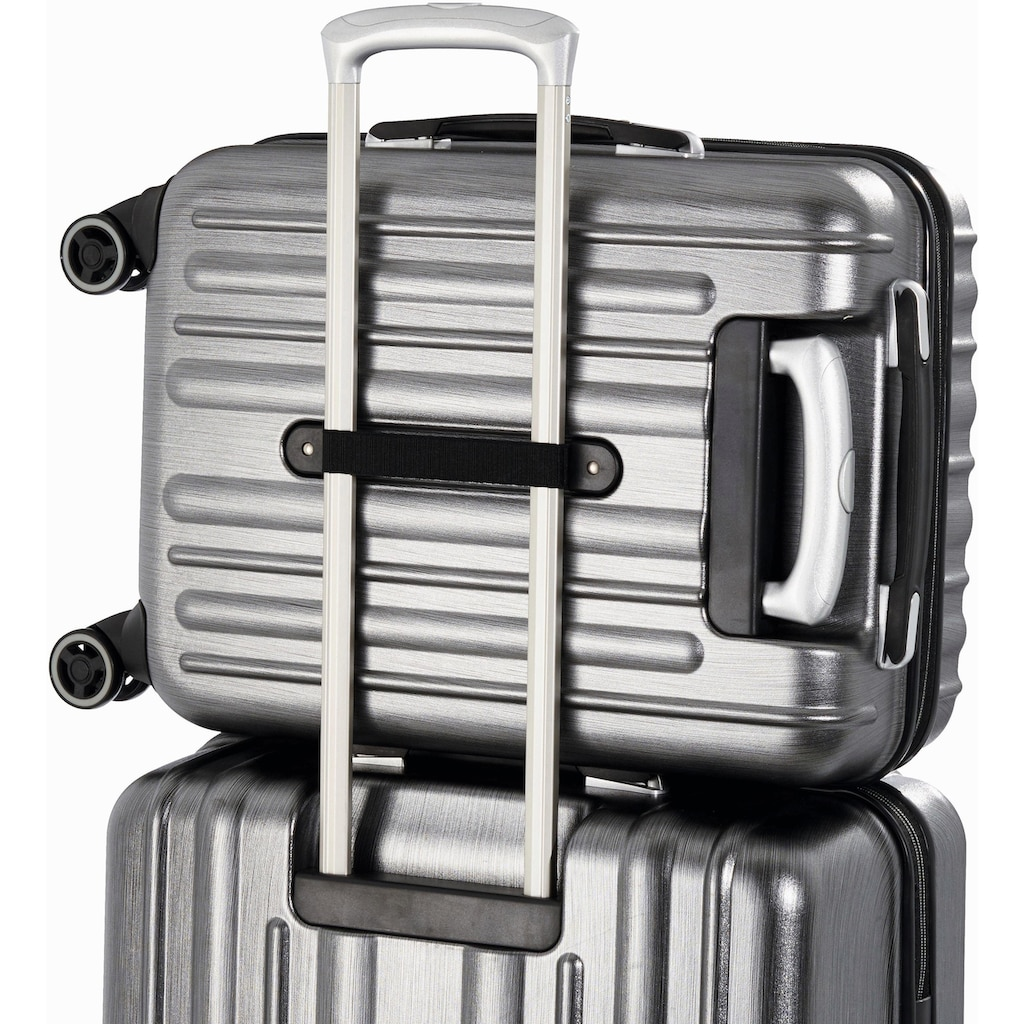 "Hardware Business-Trolley ""PROFILE PLUS , metallic grey brushed"", 2 Rollen"