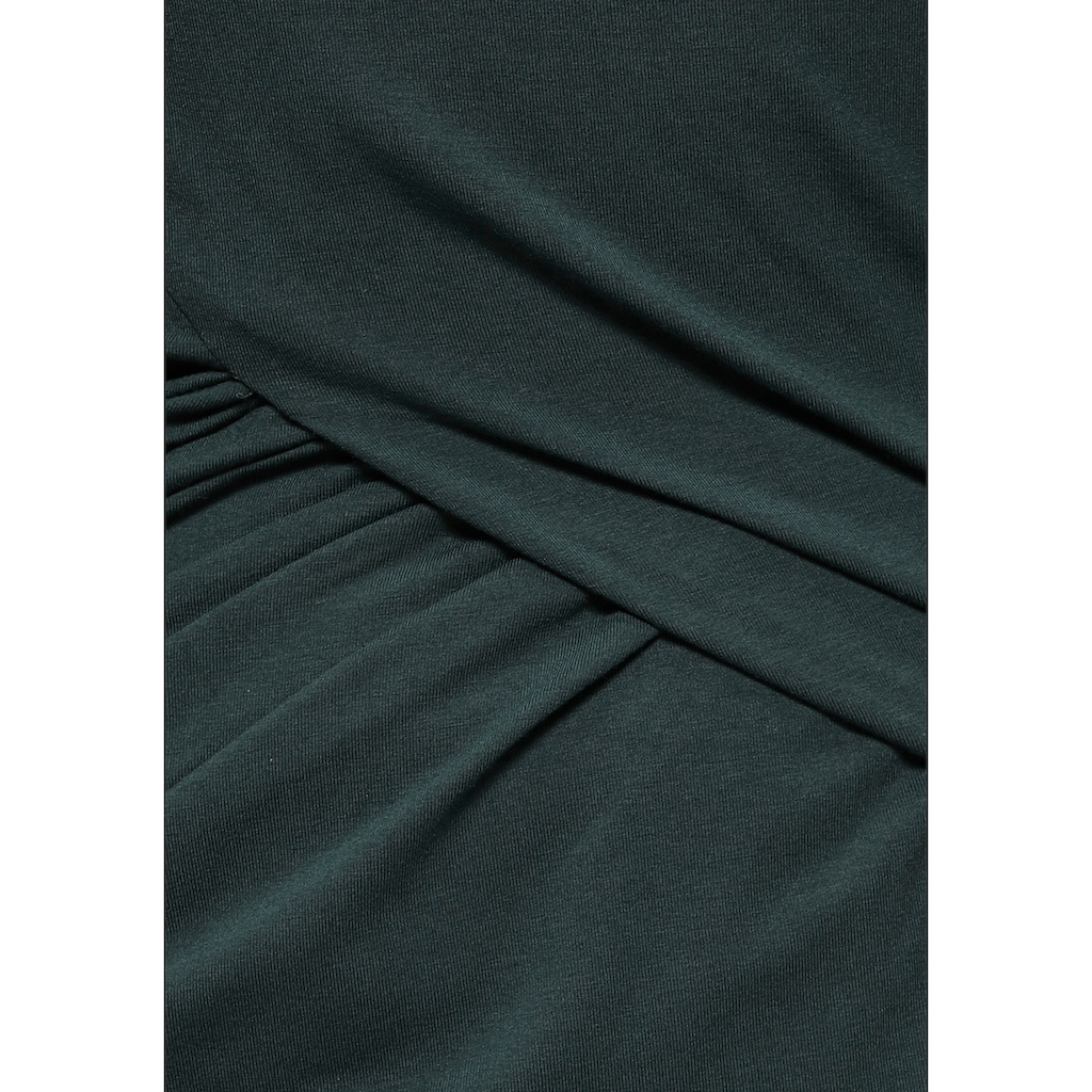 AJC Jerseykleid, mit raffinierten Raffungen