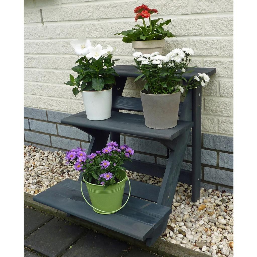 promadino Blumenständer »Blummentreppe«, BxTxH: 50x60x56 cm