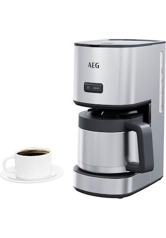 AEG Filterkaffeemaschine »CM4-1-6ST Gourmet 6«, Permanentfilter, 1x4 kaufen