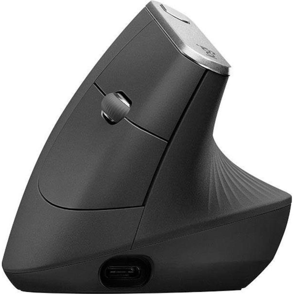 Logitech ergonomische Maus »MX Vertical«, Bluetooth