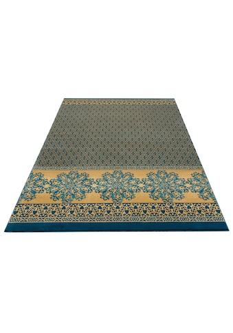 my home Teppich »Alma«, rechteckig, 11 mm Höhe, Wohnzimmer kaufen