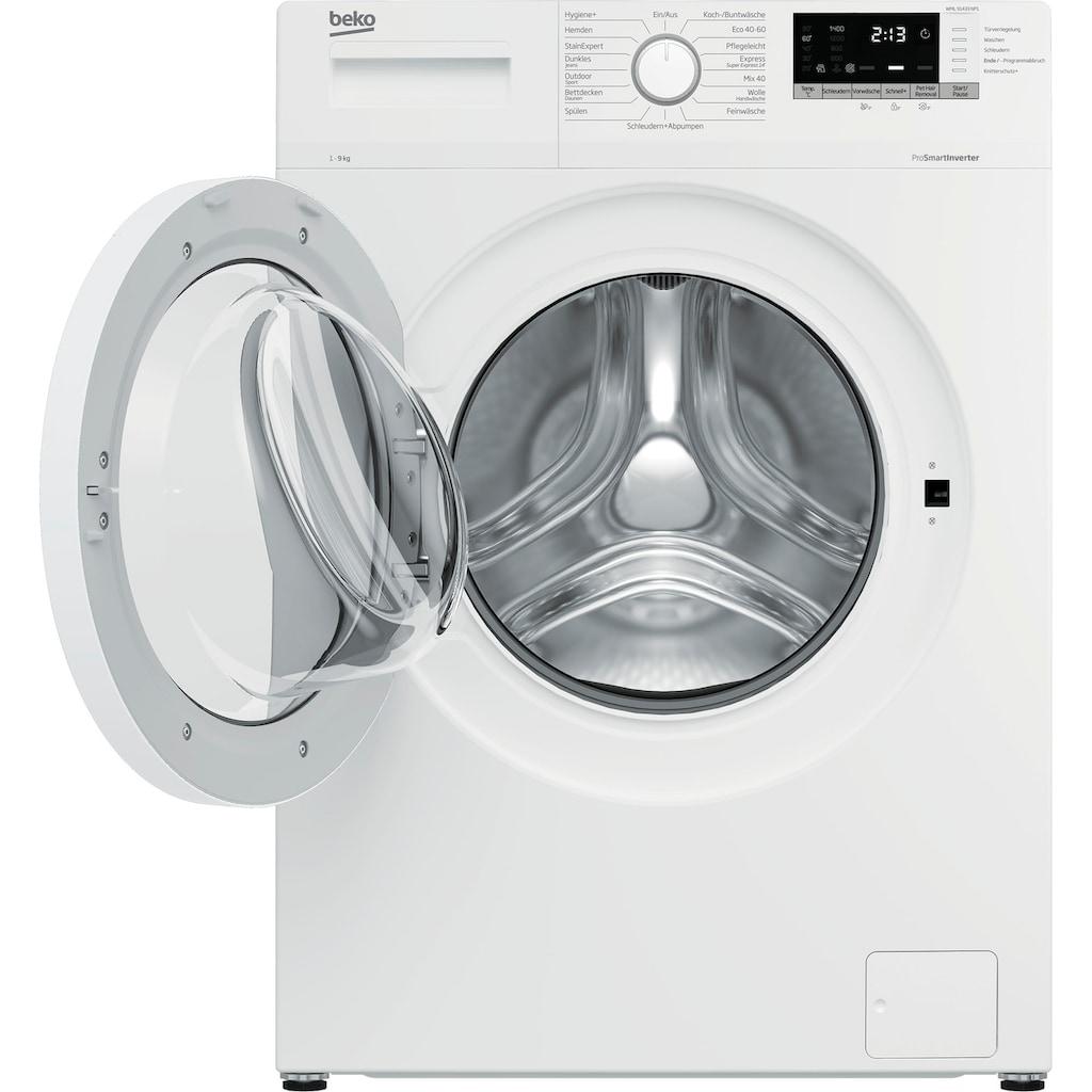 BEKO Waschmaschine »WML91433NP1«, WML91433NP1