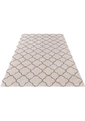 MINT RUGS Hochflor-Teppich »Luna«, rechteckig, 35 mm Höhe, modernes Allover Design,... kaufen