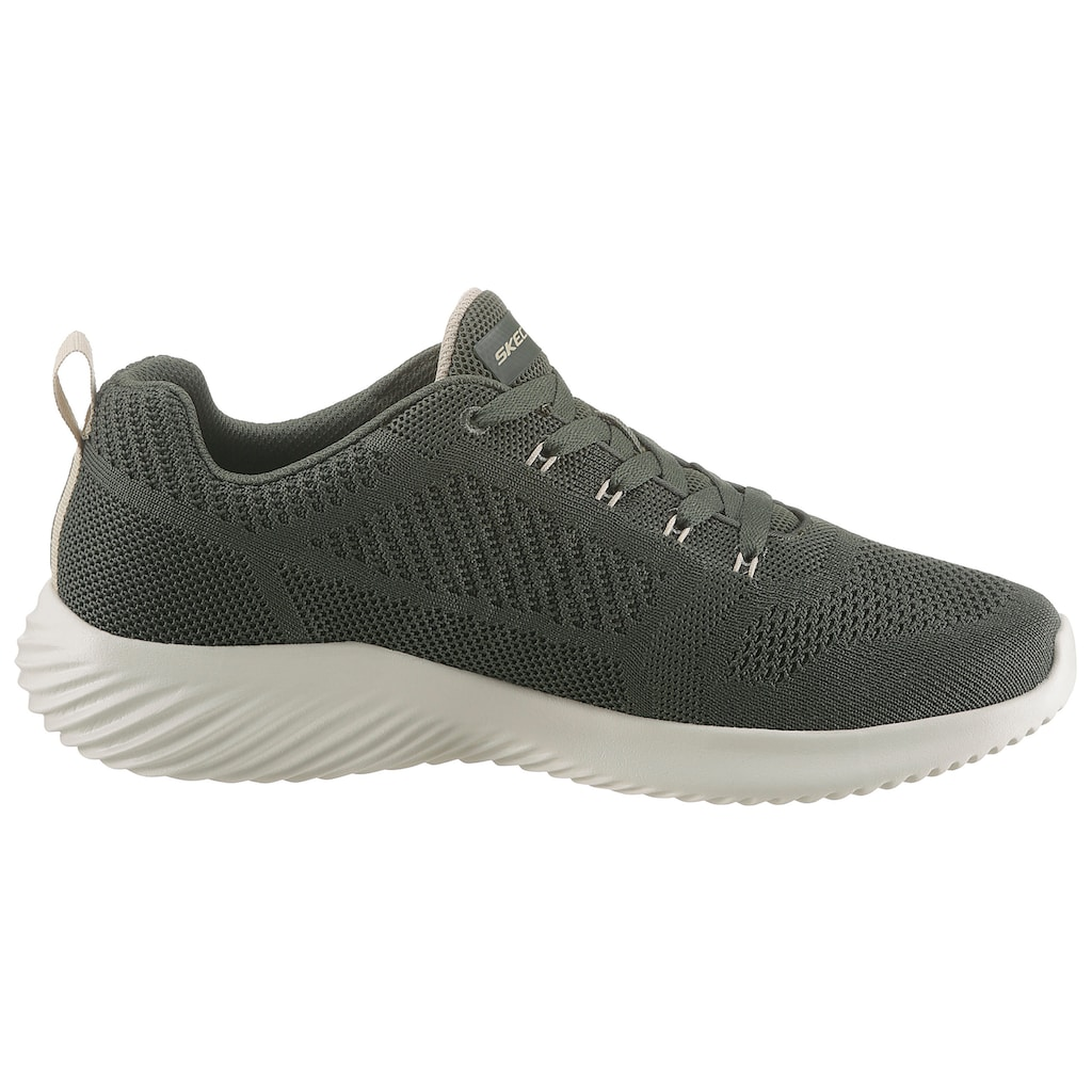 Skechers Sneaker »BOUNDER«, in Strick-Optik