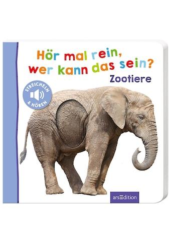 Buch »Hör mal rein, wer kann das sein? - Zootiere / DIVERSE« kaufen