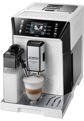 De'Longhi Kaffeevollautomat PrimaDonna Class ECAM 550.65.W, weiß, 2l Tank, Kegelmahlwerk kaufen