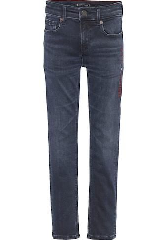 TOMMY HILFIGER Stretch-Jeans »SCANTON SLIM MARODBBLK« kaufen