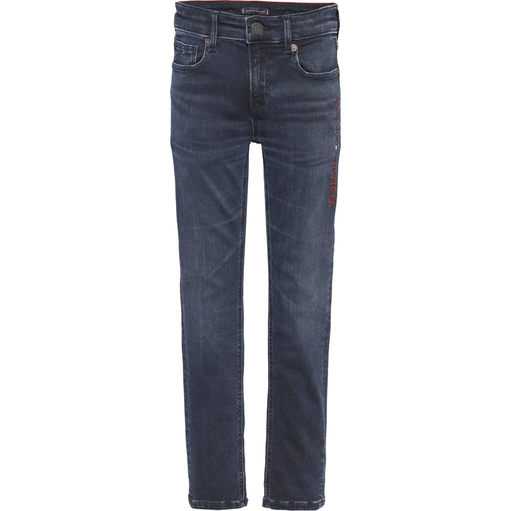 TOMMY HILFIGER Stretch-Jeans »SCANTON SLIM MARODBBLK«