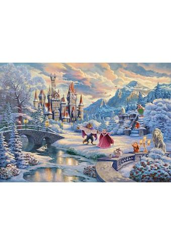 Schmidt Spiele Puzzle »Disney, Die Schöne und das Biest, Zauberhafter Winterabend«,... kaufen