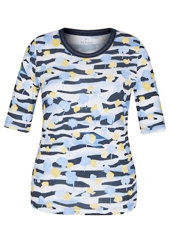 Rabe Rundhalsshirt, mit geblümtem Muster und Rundhalsausschnitt kaufen