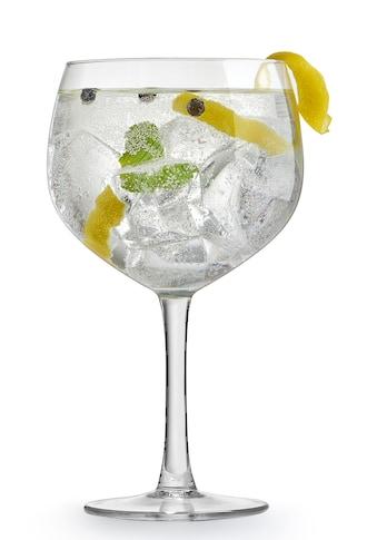 van Well Cocktailglas »Gin Tonic«, (Set, 4 tlg.), 650 ml, im Geschenkkarton kaufen