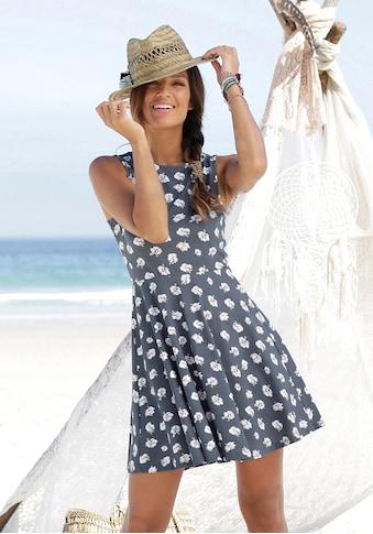 Beachtime Strandkleid, mit Blumendruck kaufen