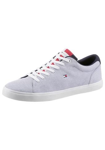 TOMMY HILFIGER Sneaker »ESSENTIAL CHAMBRAY VULCANIZED«, mit Logoflag kaufen
