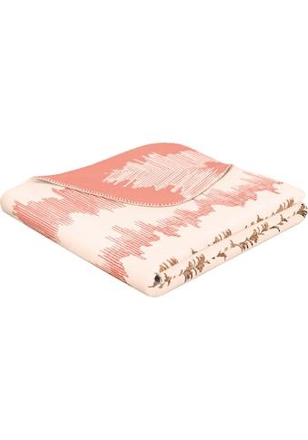 BIEDERLACK Wohndecke »Cardio«, mit Muster kaufen
