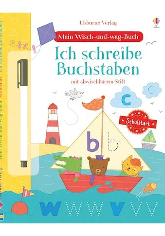 Buch »Mein Wisch-und-weg-Buch Schulstart: Ich schreibe Buchstaben / Hannah Watson,... kaufen