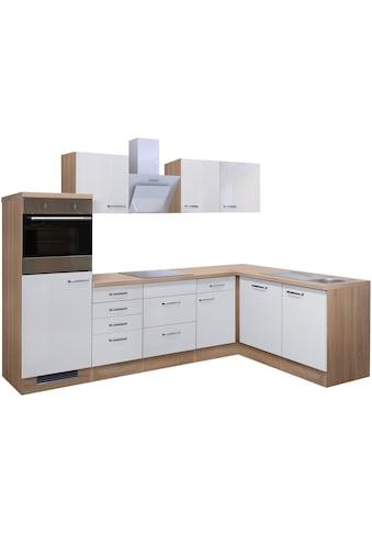 Flex-Well Küchenzeile »Valero«, mit E-Geräten, Gesamtbreite 280 cm kaufen