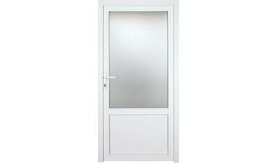 KM Zaun Nebeneingangstür »K603P«, BxH: 98x208 cm cm, weiß, rechts kaufen