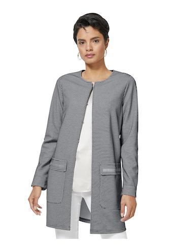 Ambria Shirtjacke in extravaganter Waben - Struktur kaufen