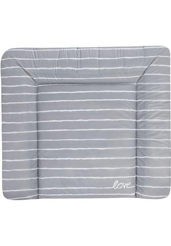 Julius Zöllner Wickelauflage »Softy - Grey Stripes«, (1 tlg.), Made in Germany kaufen