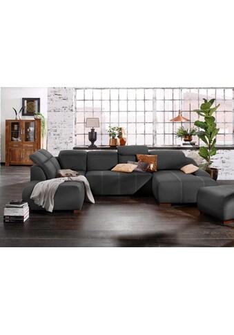 Premium collection by Home affaire Wohnlandschaft »Spirit«, wahlweise mit Bettfunktion kaufen