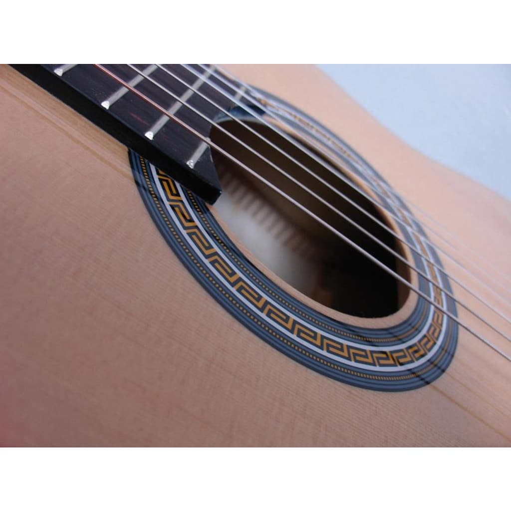 Clifton Konzertgitarre »Konzertgitarren Set, Natur«, 4/4, Komplettset