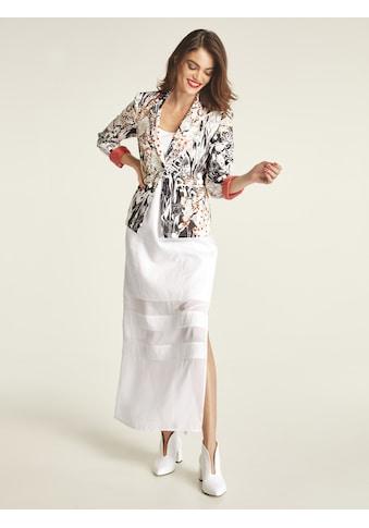 Leinenkleid mit Chiffon kaufen