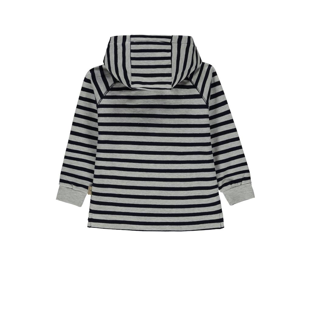 Bellybutton Sweatshirt »Basic«, Sweatshirt gestreift m. Kapuze